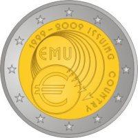 2 Euro Münze: 10 Jahre Euro