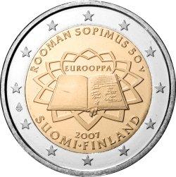 2 Euro Römische Verträge Finnland