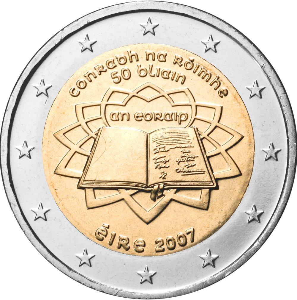 2 Euro Münze Römische Verträge Erscheint Heute