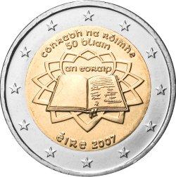 2 Euro Römische Verträge Irland