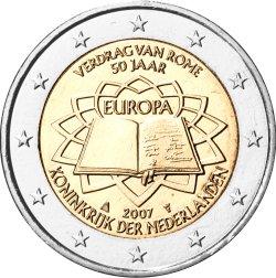 2 Euro Römische Verträge Niederlande