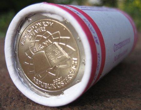 2 Euro Rolle Österreich 2007