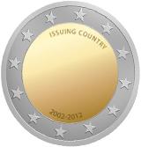 Vorlage 2 Euro Gemeinschaftsmünze