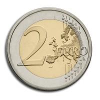 neugestaltete 2 Euro Wertseite