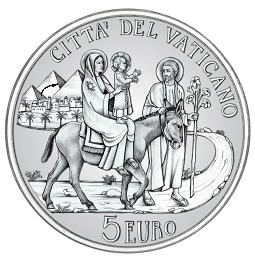 5 Euro Vatikan 2010 Silber