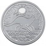 Känguru Silbermünze 2009