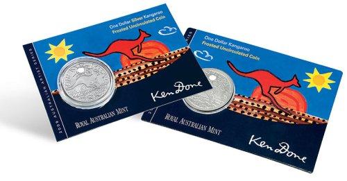 Blister von Australiens Känguru Münze