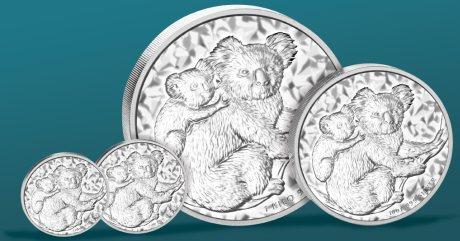 Koala Silber-Anlagemünzen 2008