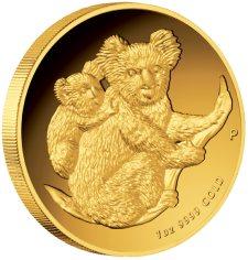 Koala Goldmünze aus Australien
