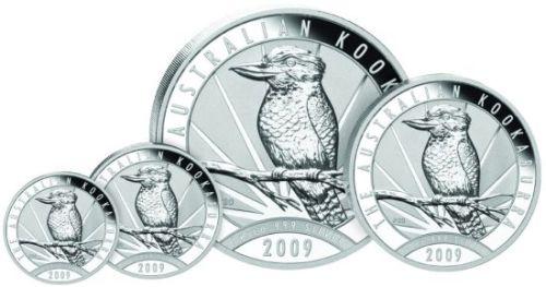 Kookaburra Silbermünzen 2009