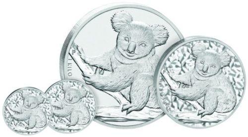 Koala Silbermünzen 2009
