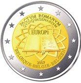 2 Euro Gedenkmünze Römische Verträge Belgien