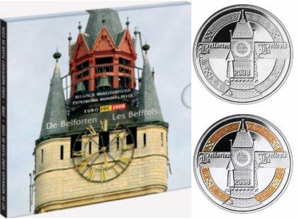 Belgien Kursmünzensatz 2008