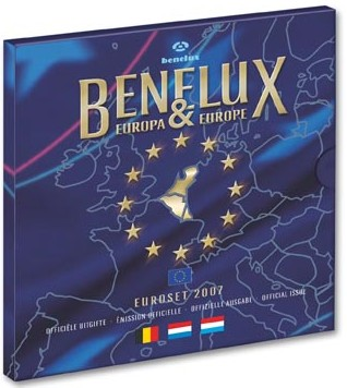 BeNeLux Kursmünzensatz 2007