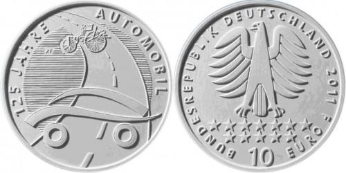 3. Platz - 10 Euro Münze Auto
