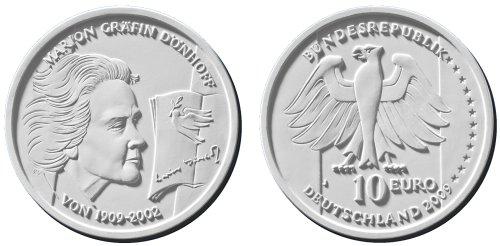 10 Euro Dönhoff - Platz 3