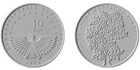 3. Platz - 10 Euro Deutsche Einheit