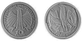 10 Euro Münze Deutsche Einheit von Victor Huster
