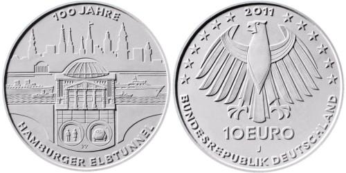 2. Platz - 10 Euro Elbtunnel