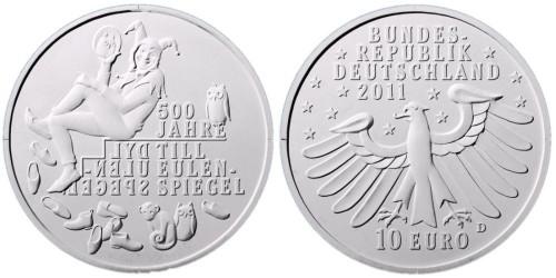 2. Platz - 10 Euro Eulenspiegel