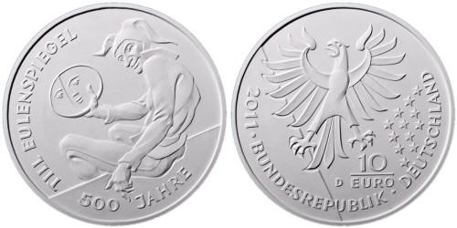 3. Platz - 10 Euro Eulenspiegel