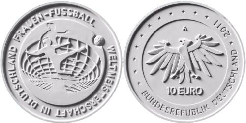 10 Euro Frauenfussball Deutschland