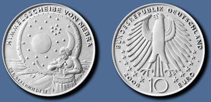 10 Euro Münze Himmelsscheibe Platz 2