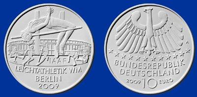Platz 2: 10 Euro Leichtathletik WM 2009