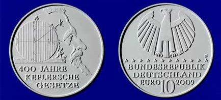 Entwurf: 10 Euro Münze Kepler