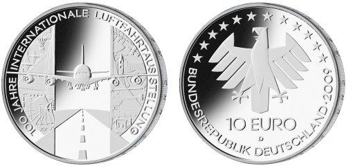 Entwurf 10 Euro Luftfahrtausstellung