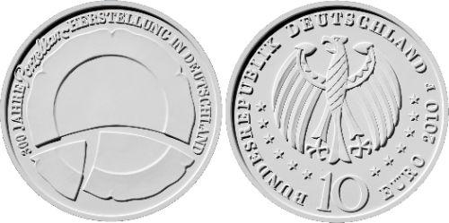 10 Euro Münze Porzellan 2010