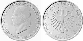 10 Euro Münze Robert Schumann