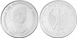 10 Euro Schumann - Platz 2