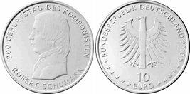 10 Euro Schumann - Platz 3