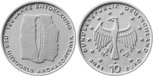 2. Platz 10 Euro Urvogel