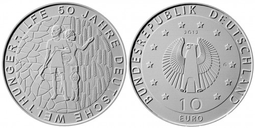 4. Platz - 10 Euro Welthungerhilfe