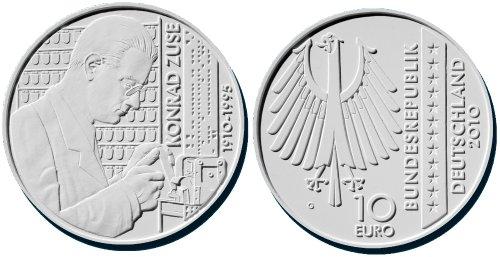 2. Platz: 10 Euro Konrad Zuse 2010