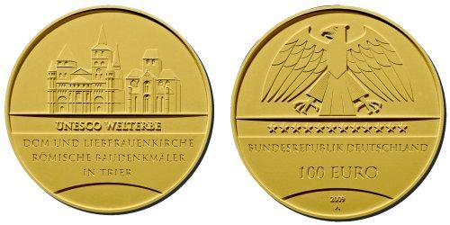 100 Euro Goldmünze Deutschland 2009