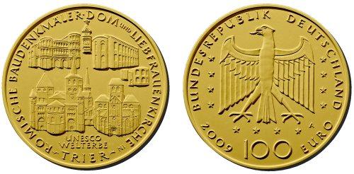 4. Platz - 100 Euro Gold Trier