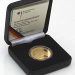 100 Euro Goldmünze Trier im Etui