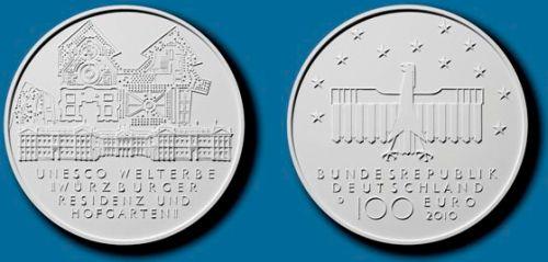 100 Euro Goldmünze Deutschland 2010