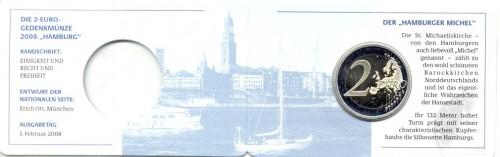 2 Euro Coincard 2008