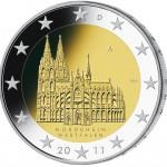 2 Euro Münze Kölner Dom 2011
