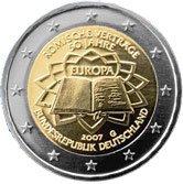 2 Euro Gemeinschaftsausgabe Deutschland 2007