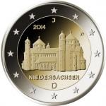 2 Euro Münze Michaeliskirche 2014