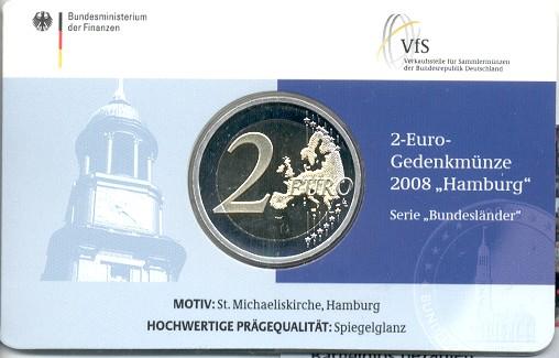 2 Euro Münze Michel Coincard