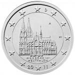 2 Euro Münze Nordrhein-Westfalen 2011