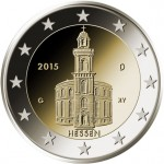 2 Euro Münze Paulskirche 2015