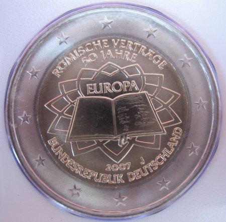 2 Euro Römische Verträge Deutschland