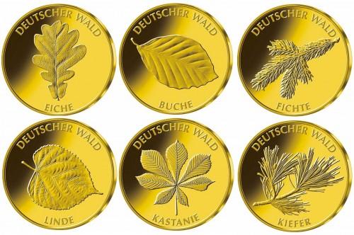 20 Euro Goldmünzen Deutscher Wald